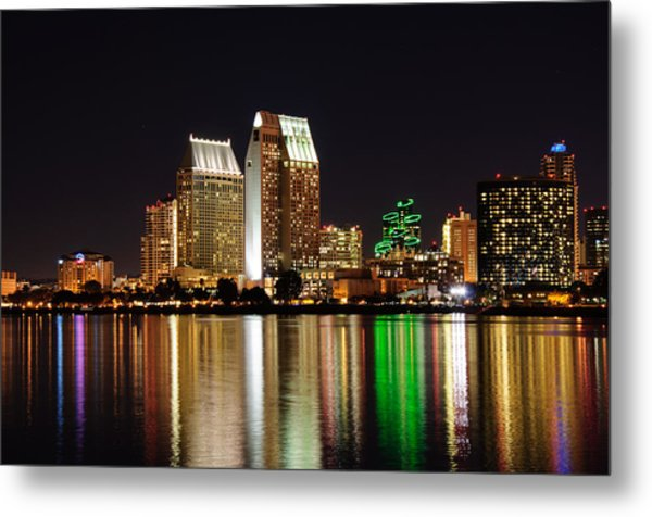 Downtown San Diego Metal Print