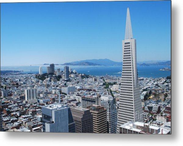 Downtown San Francisco Metal Print