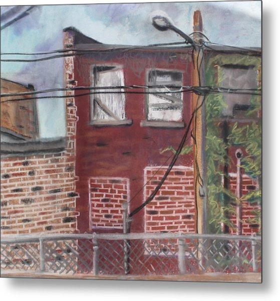 Downtown Warrensburg Metal Print by Billy Granneman