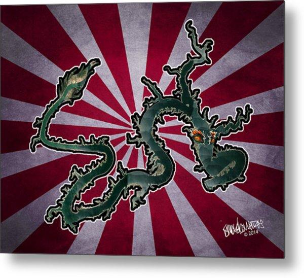 Dragon Of The Colorado Metal Print