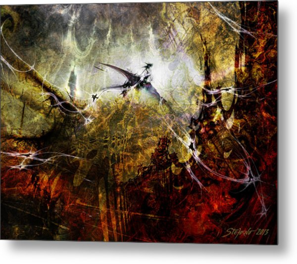 Dragon Realms Metal Print