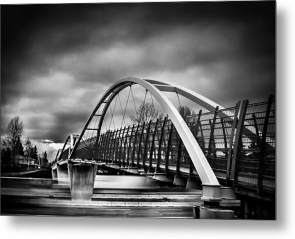 Dramatic Overpass Metal Print