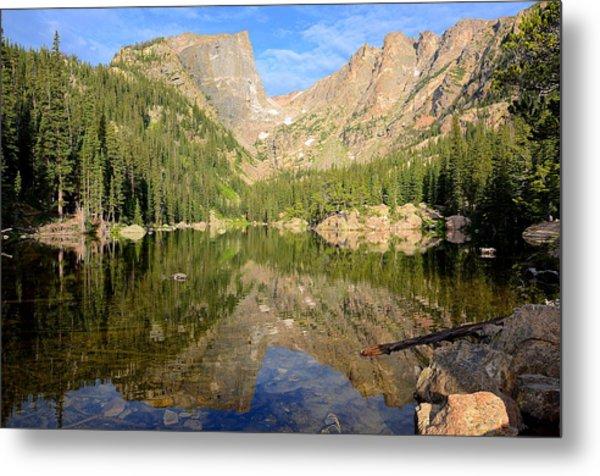Dream Lake Reflection Metal Print