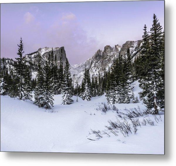 Dream Lake Sunrise Metal Print by Robert Yone