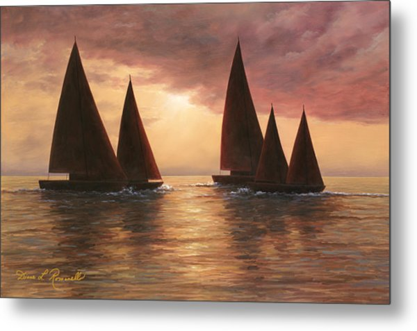 Dream Sails Metal Print