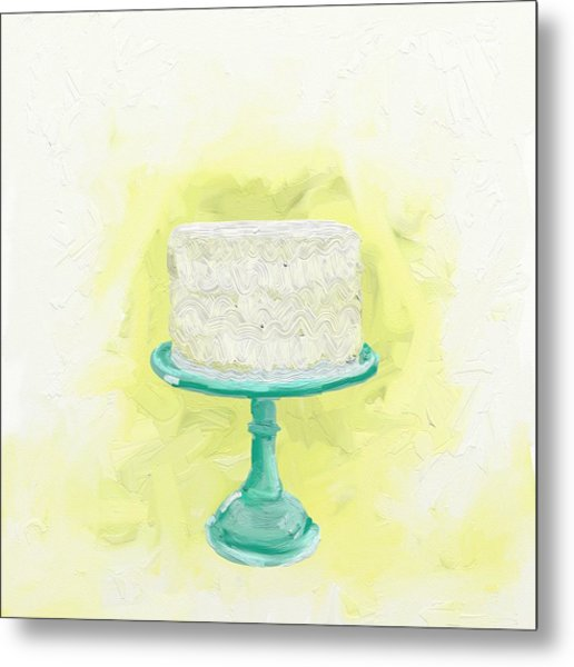 Dreaming Of Buttercream  Metal Print