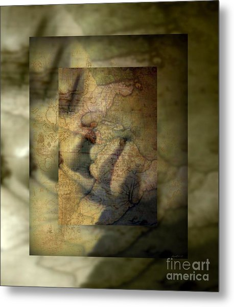 Dreaming Of What Could Be Isn't Meant To Be Metal Print by Fania Simon