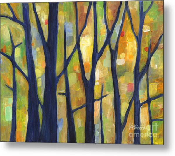 Dreaming Trees 2 Metal Print