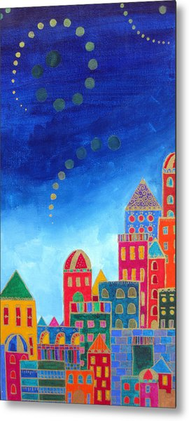 Dreams Above Jerusalem Metal Print