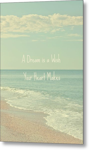 Dreams And Wishes Metal Print