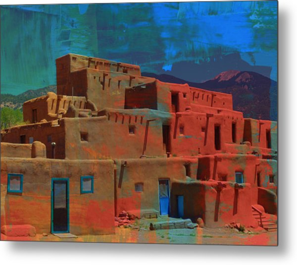 Dreams Of Taos Metal Print