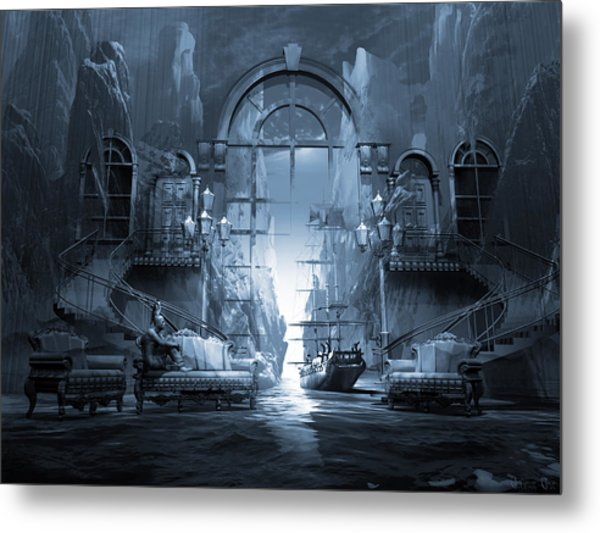 Dreamscape Reality Metal Print by George Grie