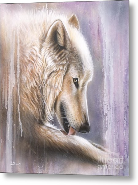 Dreamscape Wolf IIII Metal Print