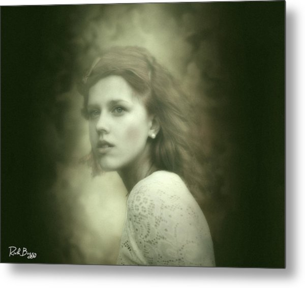 Dreamy Red Metal Print by Rick Buggy
