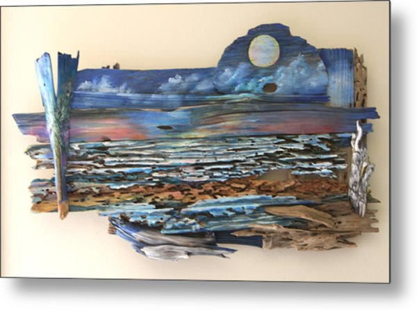 Drift Wood Art  Metal Print