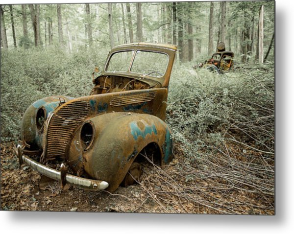 Drive To The Past Metal Print