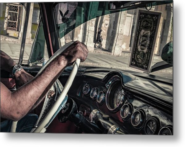 Driver Metal Print by Andreas Bauer