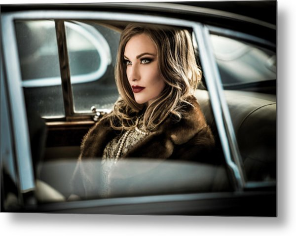 Driving The Diva To The Event.... Metal Print