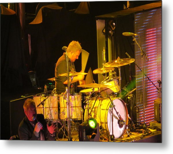 Drumer For Newsong Rocks Atlanta Metal Print