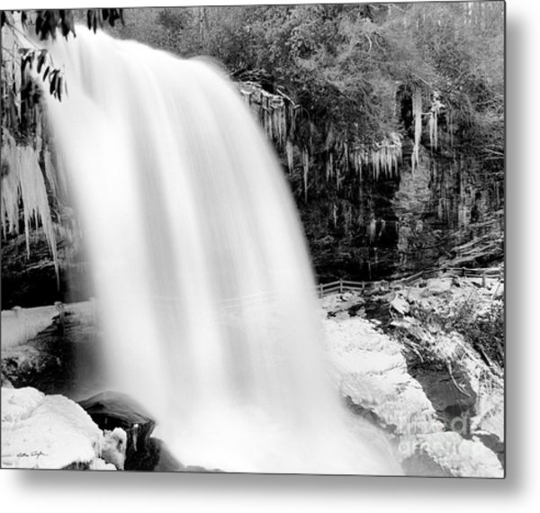 Dry Falls Winter 2006 Metal Print