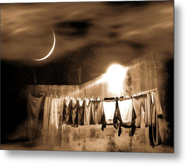 Dry Night Metal Print