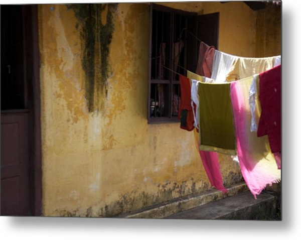 Drying In The Sun Metal Print