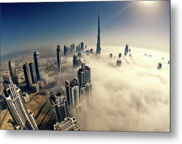 Dubai Metal Print by © Naufal Mq
