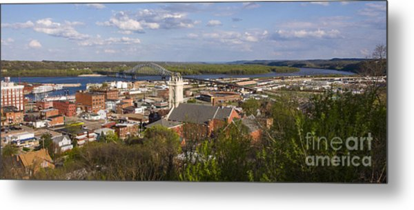 Dubuque Iowa Metal Print