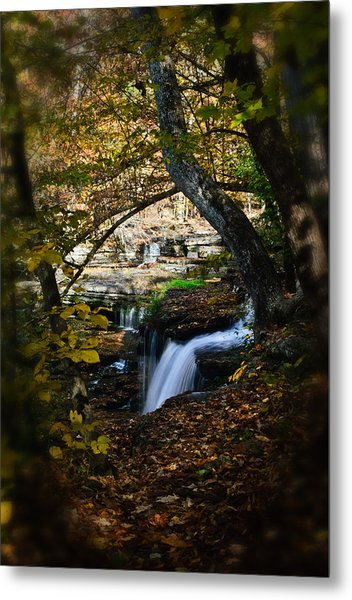 Duck River Falls Metal Print