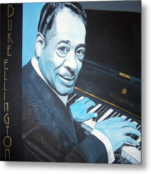 Duke Ellington Metal Print