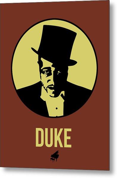 Duke Poster 1 Metal Print