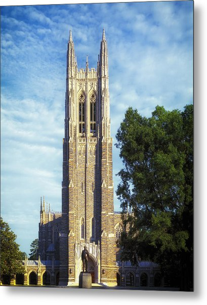 Duke University's Chapel Tower Metal Print