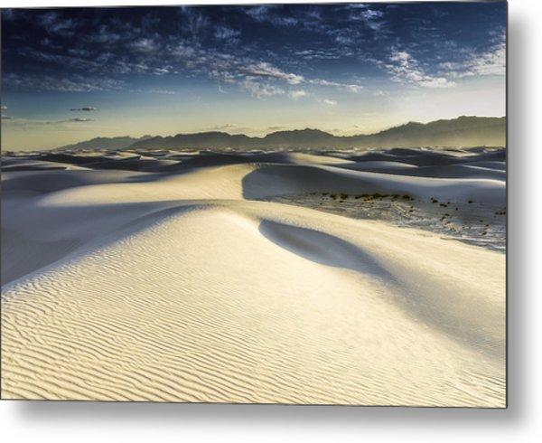 Dune Metal Print by Christian Skilbeck