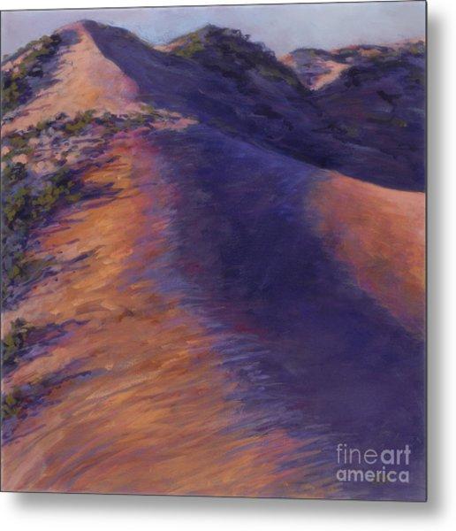 Dune Glow Metal Print