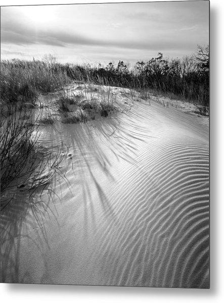 Dune Ripple Metal Print by James Rasmusson