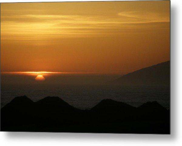 Dune Sunset 1 Metal Print