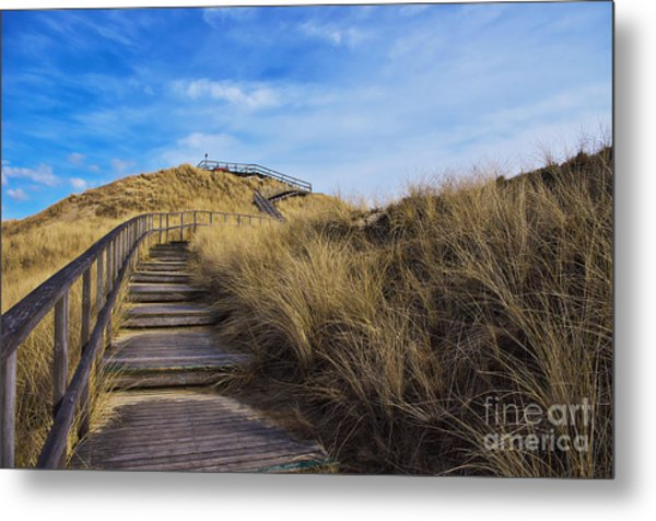 Dune With A View Metal Print