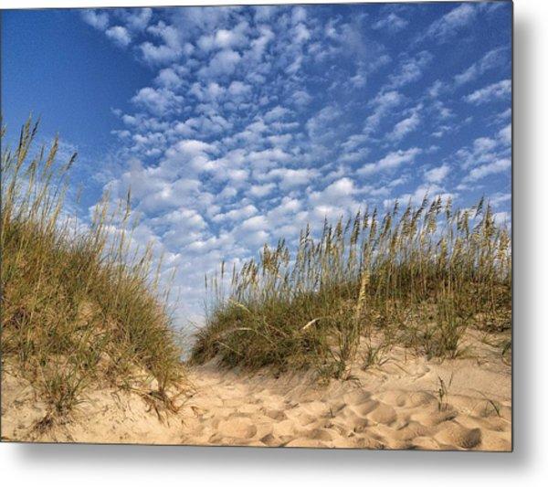 Dunes And Sky Metal Print