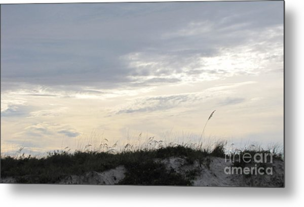 Dunes At Dusk II Metal Print by Gayle Melges