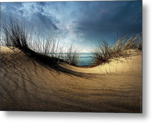 Dunes........... Metal Print by Wim Schuurmans