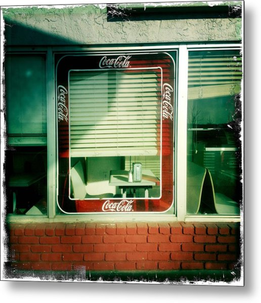 Dunnigan Cafe Metal Print