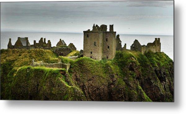 Dunnottar Castle Scotland Metal Print