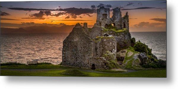 Dunure Castle Ayrshire Scotland Metal Print