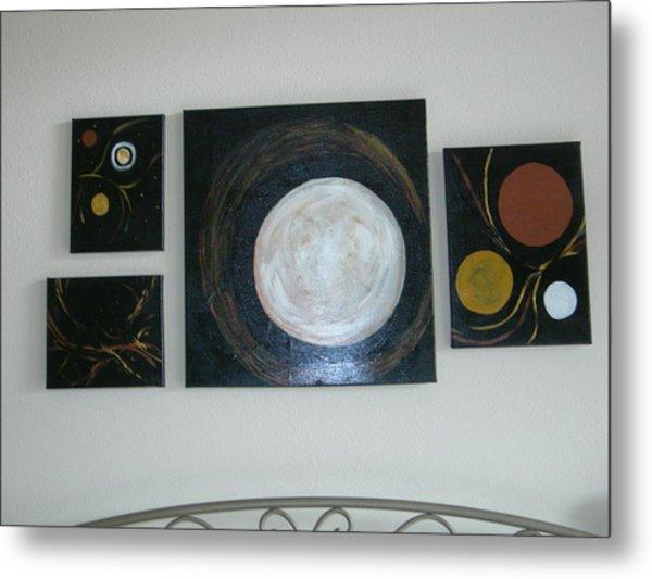 Decrocher La Lune Metal Print
