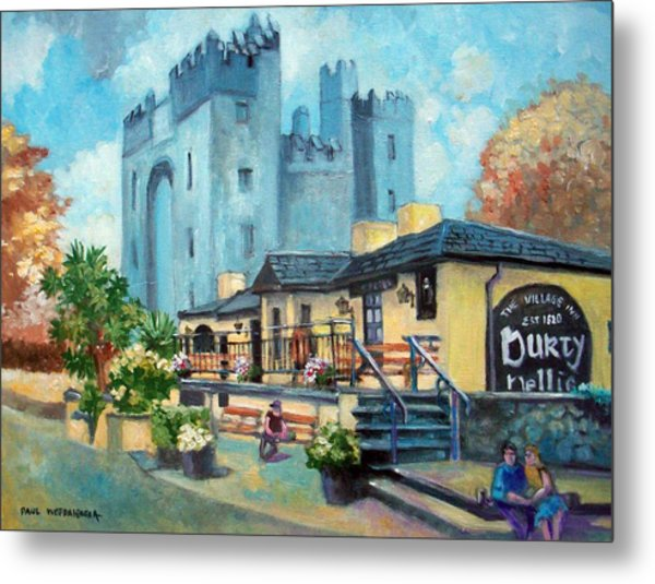 Durty Nellies  Co Clare Ireland Metal Print