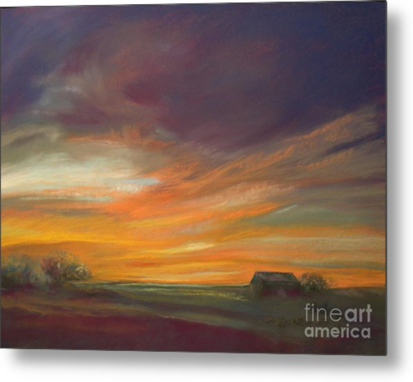 Dusk Metal Print by Addie Hocynec
