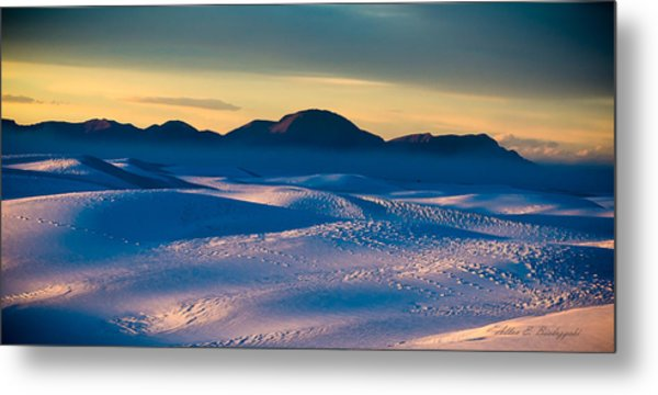 Dusk On Planet Earth Metal Print