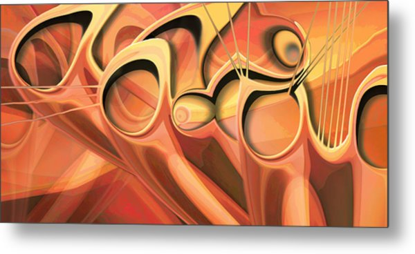 Dwelling In Groups  Metal Print