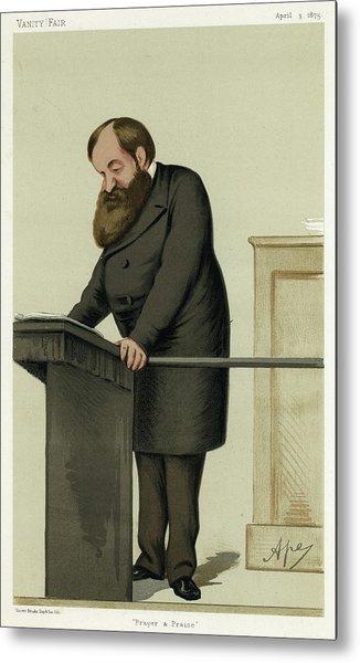 Dwight Lyman Moody (1837 - 1899) Metal Print