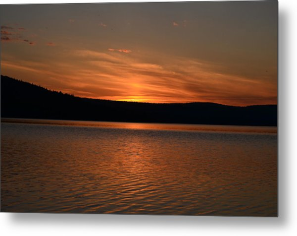 Dying Breath Of The Day Metal Print